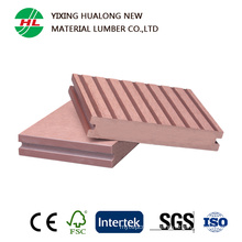 Solid WPC Plastic Composite Timber Decking