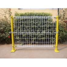 China suministran la cerca decorativa del jardín / la cerca pequeña del jardín / la cerca barata del acoplamiento de alambre