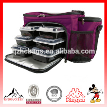 Custom Meal Management Bag for Picnic Insulated Lunch Bag (ESX-LB285)