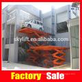 scissor car lifting equipment