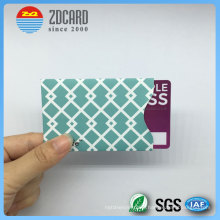 Customized Aluminum Foil Paper RFID Blocking Sleeve for Credit Card
