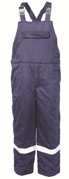 fr padded bib pants