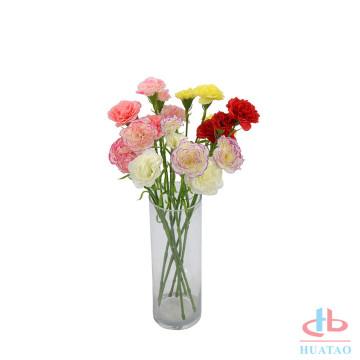 Hochzeitsbogenblumenblatt-Gartennelkenblume der künstlichen Seidenblume