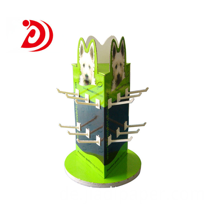 Rotating Floor Display Stand
