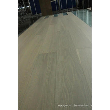 White Washed Lacquered Ab Grade Oak Timber Engineered Flooring