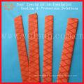 Gaine thermorétractable antidérapante rouge pour canne à pêche
