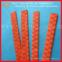 Tubo termocontraíble antideslizante rojo para caña de pescar