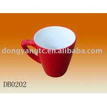 Fábrica direta atacado 10.5 oz xícara de porcelana