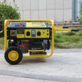 BISON (CHINA) Groupe électrogène électrique alternatif triphasé 5kw, générateur électrique silencieux petit Denyo, générateur chinois 5,5kva