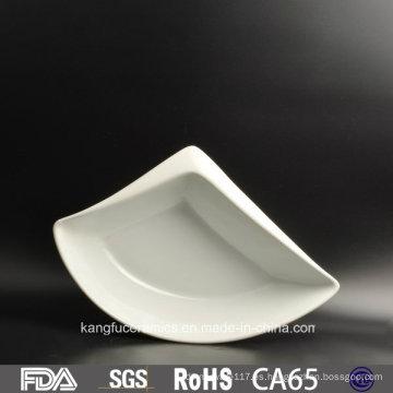 Nuevo juego de vajilla de cerámica Gibson de forma irregular