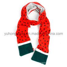 Fashion Warm Knitting Polar Fleece Scarf