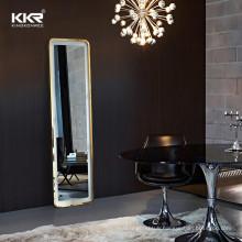 Wall Mounted Backlit LED Lighted Illuminated Feature Large Beauty hair salon mirror led backlit salon mirror