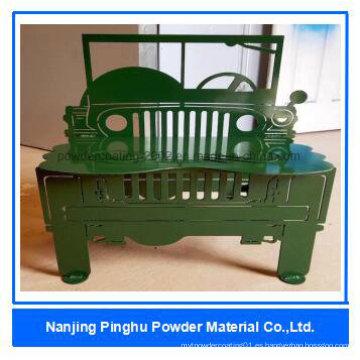 Revestimientos Electrostatic verdes baratos del polvo