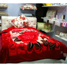 100% Polyester Flannel Blanket 200X240cm