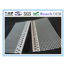 White PVC Corner Profile with Mesh