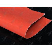 Revestido de fibra de vidro tecido silício revestido