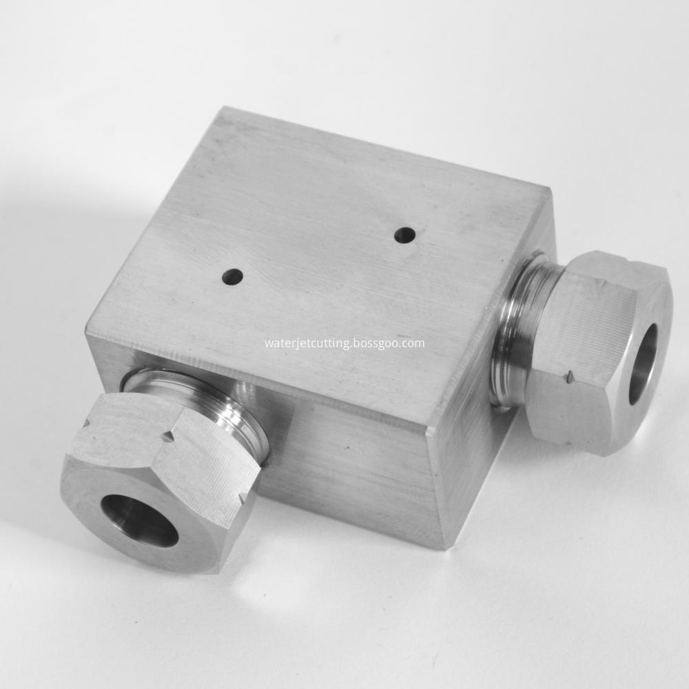 Waterjet Spare Parts High Pressure Pipe Fitting 3