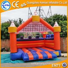 Novo tipo coloridos castelos infláveis comerciais, castelo de alta qualidade bouncer