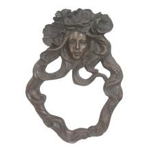Relievo En Laiton Statue Dame Buste Relief Relief Deco Bronze Sculpture Tpy-857