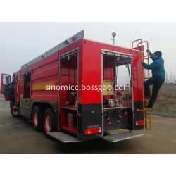 15-20CBM 336HP Diesel Emergency Rescue Fire Fighting Truck