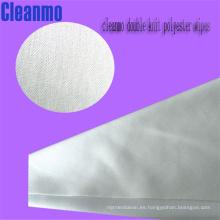 Limpiador 100% Polyester Cleanroom (usado para electrónica, semiconductor, disco duro, óptica-electrónica))