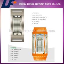 China elevador de pasajeros de vidrio panorámico residencial de China