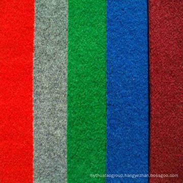 Polyester Red Plain Velour Exhibition Carpet