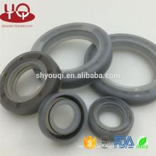 Selo de borracha high-density da resistência de óleo do silicone / peças mecânicas da selagem do silicone dos selos de óleo VMQ