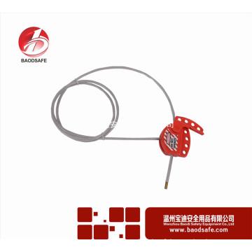 Wenzhou BAODI Verrouillage de câble réglable universel Verrouillage de verrouillage BDS-L8611 Rouge