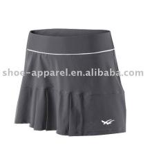 Venta al por mayor sexy gris tenis faldas muestra disponible