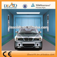 Opposite Entrance Car Elevator with Energy-Saving Fluorescent Lamp