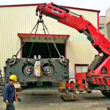 Grue montée par camion télescopique de boom d'articulation de grue de capacité de levage de 32 tonnes