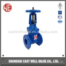 wcb flange rising stem gate valve