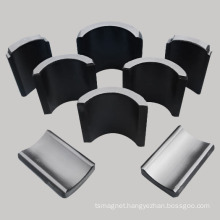 Sintered Ferrite Arc Segments Magnet Used in Motor