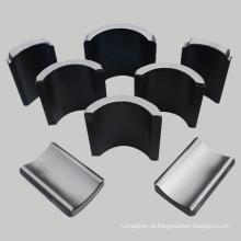 Ímã sinterizado de segmentos de arco de ferrite usado no motor