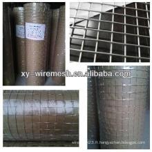 Grille métallique soudée en coton / cage à haute qualité