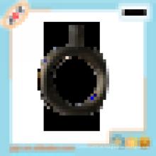 Vorhangstange 500mm Metall schwarz Vorhang Öse Ringe