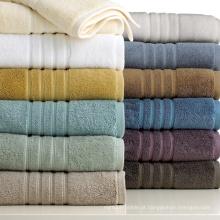 Toalha impressa em cor sólida 100% algodão (DPF2125)