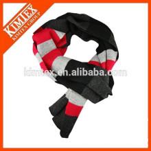 Écharpe en tricot femme en acrylique personnalisée en gros