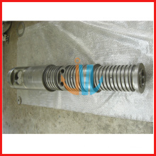 conical twin extruder screw and barrel for plastic extruder