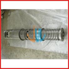 конический двойной шнек экструдера и цилиндр для экструдера пластика