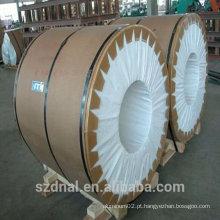 Largura 1200 mm de espessura diferente Bobina de alumínio laminada a quente AA1050