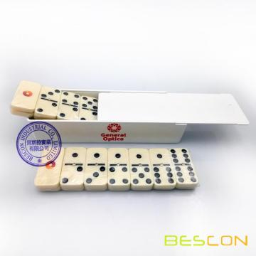 Plastic Box Packing Cheap Domino Set with Custom Printing