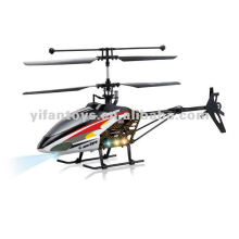 4 channel gulit-gyro self-stabilizing for precision control Helicopter