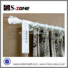 Motorized Electric Curtain Track With Double Open Curtain System