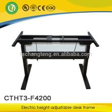[Escritorio de fábrica] escritorio ajustable de altura ajustable para estación de trabajo de oficina de diseño