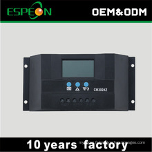 Contrôleur de chargeur d'énergie solaire de marque d'OEM PWM 30A 12V 24V pour la batterie