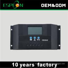 Controlador do carregador das energias solares do tipo PWM 30A 12V 24V do OEM para a bateria