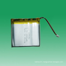 105050 3.7V Li-Polymer Battery 3000mAh for Electronic Device