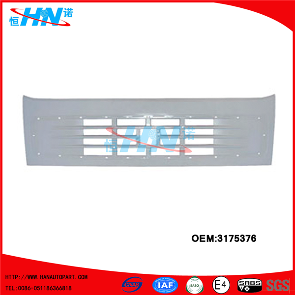 Upper Grille 3175376 Spare Parts For Volvo